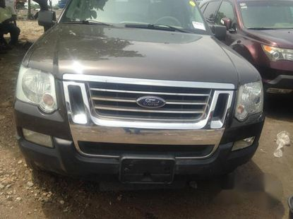 Ford Explorer 2008 Gray for sale