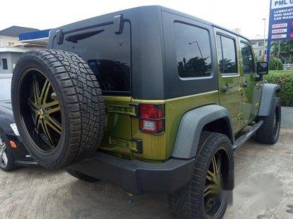 Super Sharp Tokunbo Jeep Wrangler 2011 Green for sale