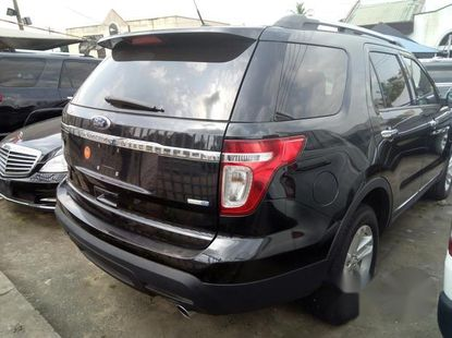 Clean as new Ford Explorer 2012 Black for sale