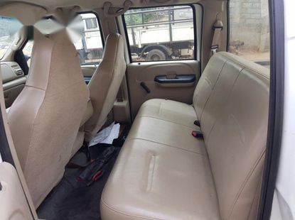 Ford F250 2006 Whitefor sale