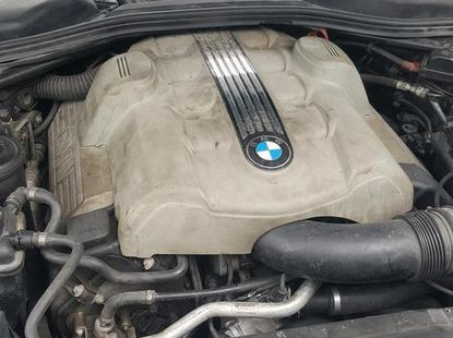 BMW 545i 2006 Blue for sale