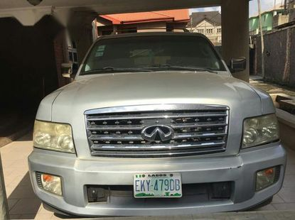 Used Infiniti QX 2004 Silver for sale