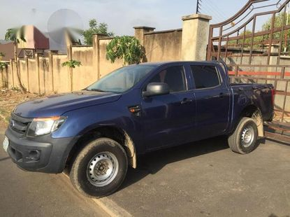 Used Clean Ford Ranger 2015 Blue for sale