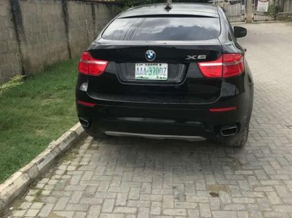 Clean Used BMW X6 2008 Black for sale