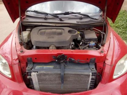 Well maintained red Chevrolet 2008 for sale