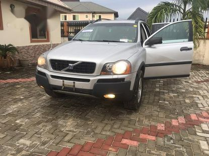 Volvo XC90 2.5 T 2005 Silver for sale