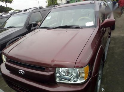 Infiniti QX 2002 Red for sale