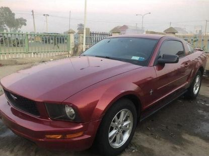 Ford Mustang 2007 Red for sale