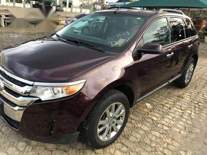 Very Clean Ford Edge 2011 Red for sale