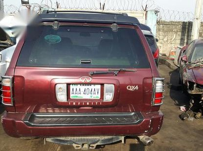 Infiniti QX 2005 Red for sale