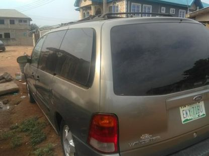 Ford Windstar 2003 3.8 Silver for sale