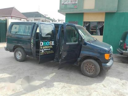 Ford Econoline 2003 Blue for sale
