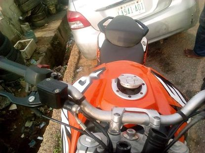 Almost brand new KTM 125 2005 Petrol for sale
