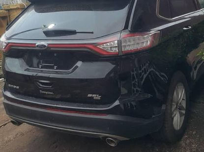 Ford Edge 2017 Black for sale