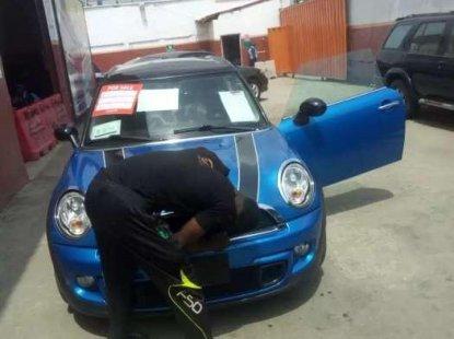 Blue Elegant Mini cooper 2012 for sale