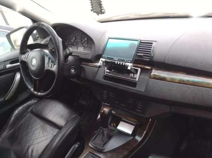 Silver color BMW X5 2002 model for sale