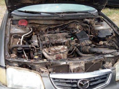 Mazda 626 2000 Gray for sale
