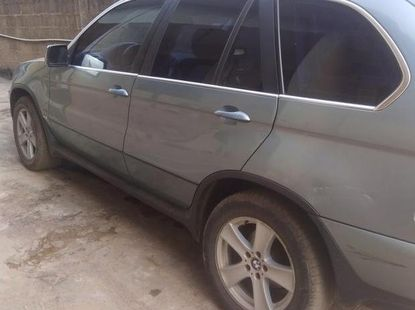 BMW X5 4.4i 2003 Green for sale