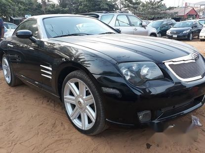 Foreign Used Chrysler Crossfire 2008 Black for sale