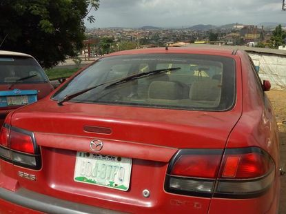 Mazda 323 2005 Red for sale