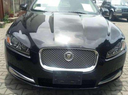 Super Clean Black Jaguar XF 2012 for sale 9