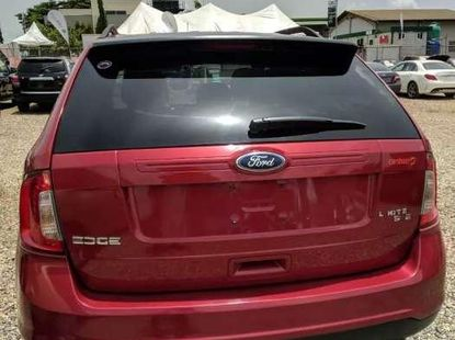 Super Clean Red Ford Edge 2012 for sale cheap