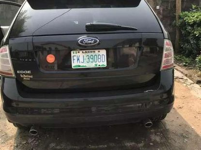 Registered 2008 model Ford Edge available for sale