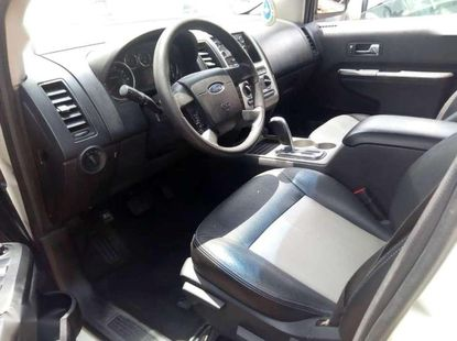 White Ford Edge 2009 for sale