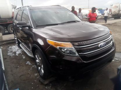 Toks Ford Explorer 2013 Brown for sale