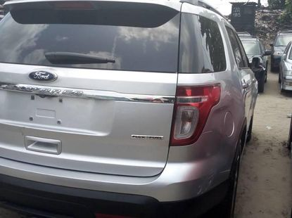 Ford Explorer 2012 SUV Silver For Sale