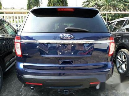 Clean Ford Explorer 2011 Blue For Sale