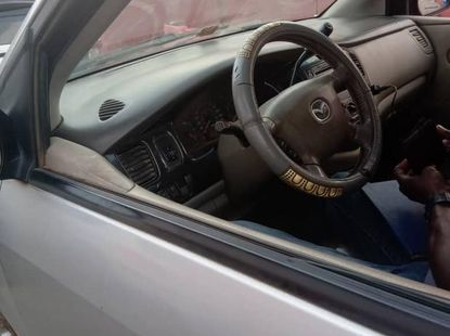 Mazda MPV 2003 Silver for sale