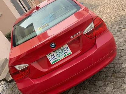 BMW 325i 2008 Red  color for sale