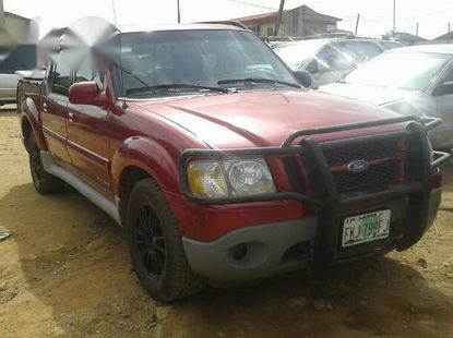 Ford Explorer 2001 Sport Trac Red for sale