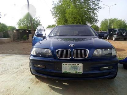 BMW 320i 2002 Blue for sale