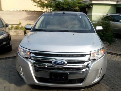 Toks Ford Edge 2011 Silver for sale