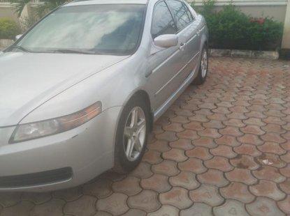 Acura TL 2004 Silver color for sale