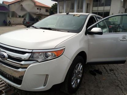 Ford Edge 2014 Whitefor sale