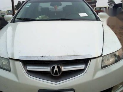 Acura TL Sedan 2004 White for sale