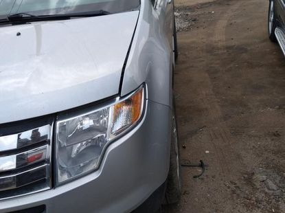 Toks Ford Edge 2009 Silver for sale