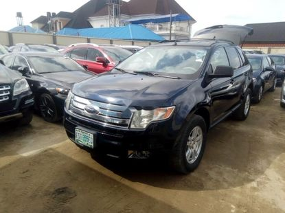 Almost brand new Ford Edge Blue  Petrol Automatic For Sale