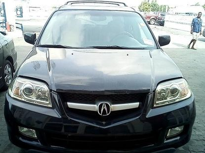 2006 Acura MDX Black Petrol Automatic For Sale
