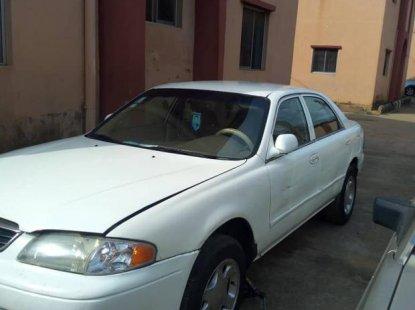 Mazda 626 2002 Whitefor sale