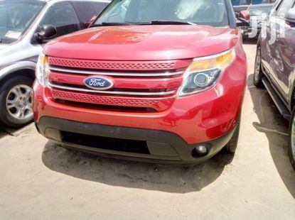 Ford Explorer 2013 Red for sale