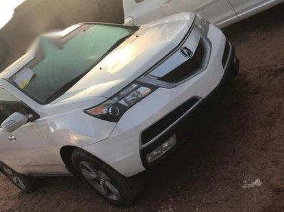 Acura MDX 2011 White color for sale