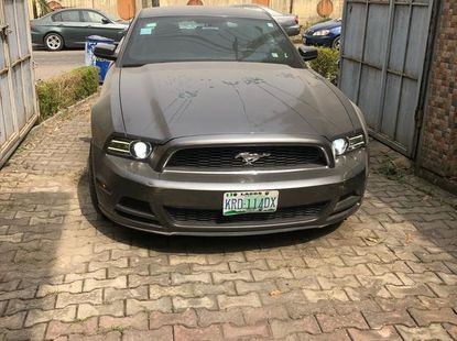 Ford Mustang 2012 Gray for sale