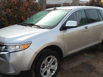 Ford Edge 2011 Gray color for sale