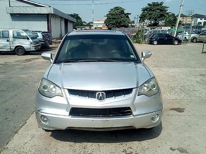 Silver Used Acura RDX 2008 Model for sale
