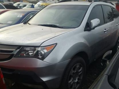 Acura MDX 2007 Silverfor sale
