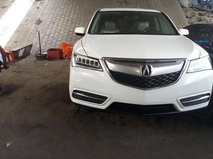 Acura MDX 4dr SUV (3.5L 6cyl 6A) 2015 White for sale